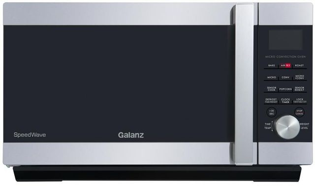 Galanz 1.2 Cu. Ft. Stainless Steel SpeedWave Microwave True Convection Air Fry-GSWWA12S1SA10
