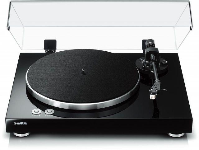 Yamaha Black Turntable-TT-S303BL