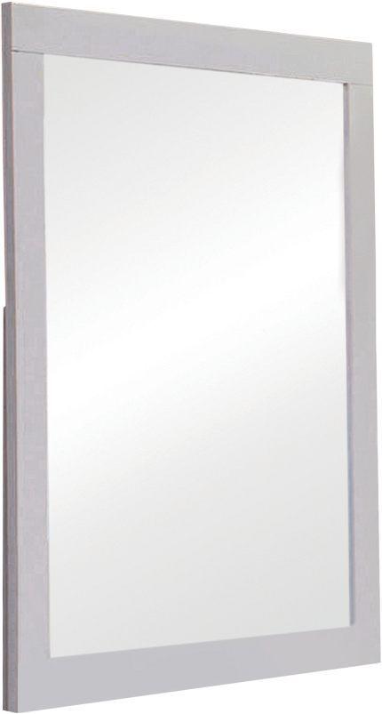 Coaster® Jessica White Mirror-202994