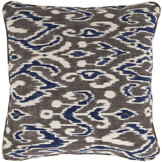 Signature Design by Ashley® Kenley Blue/Brown Set of 4 Pillows-A1000489