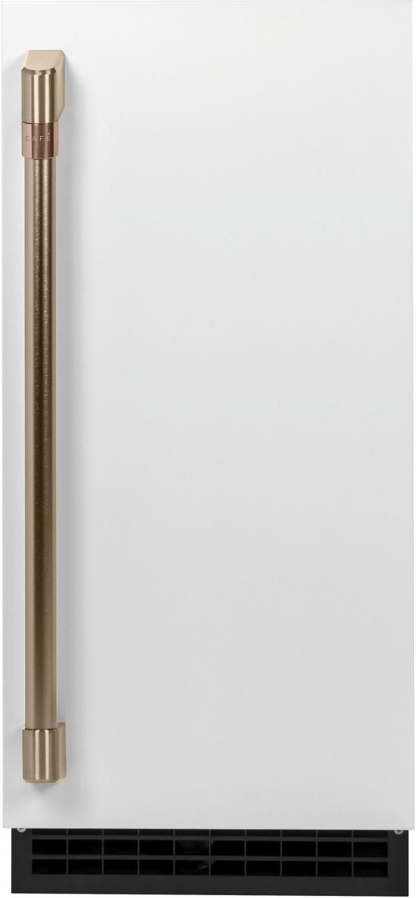 Café™ Matte White Ice Maker Door Kit-CIP75W2