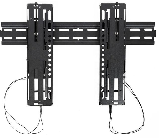 "SnapAV Strong® Razor Series Medium Black Fixed Mount for 24""-55"" Displays-SM-RR-F-M"