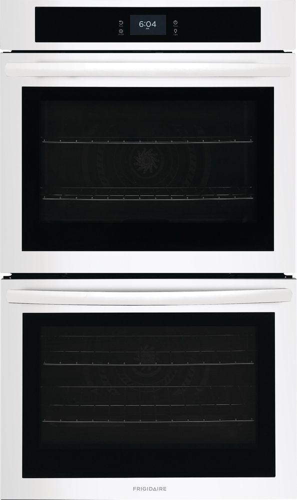"""Frigidaire® 30"""" White Double Electric Wall Oven-FCWD3027AW"""