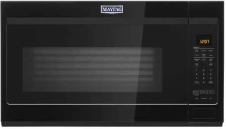 Maytag® 1.9 Cu. Ft. Black Over The Range Microwave-YMMV4207JB