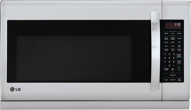 LG 2.2 Cu. Ft. Stainless Steel Over The Range Microwave Oven-LMH2235ST