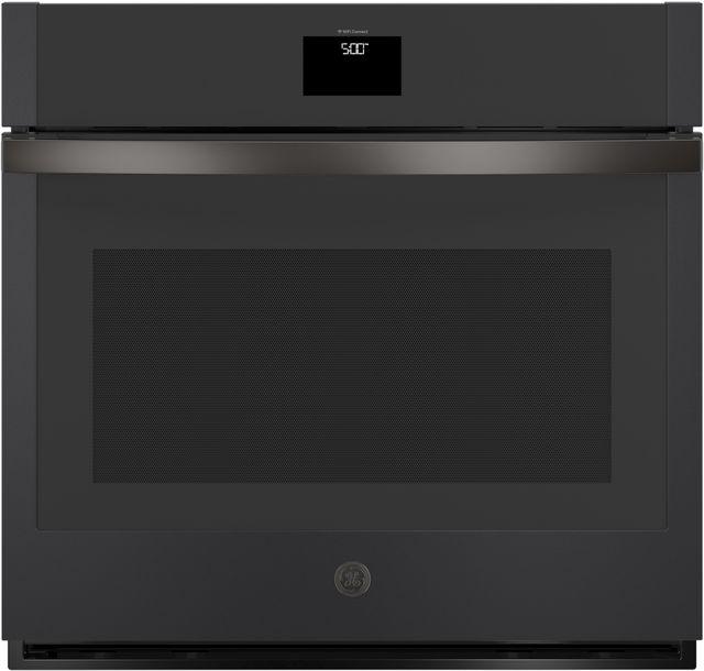 """GE® 30"""" Black Slate Electric Single Oven Built In-JTS5000FNDS"""