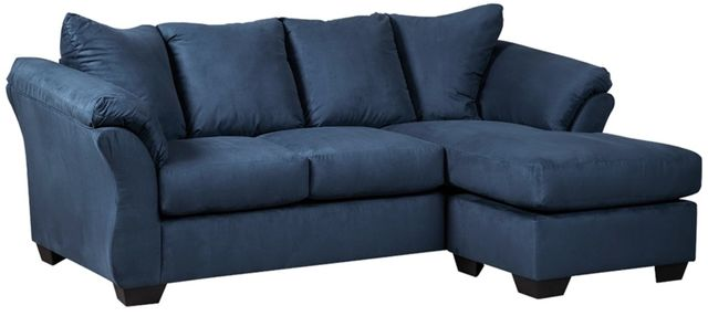 Signature Design by Ashley® Darcy Blue Sofa Chaise-7500718