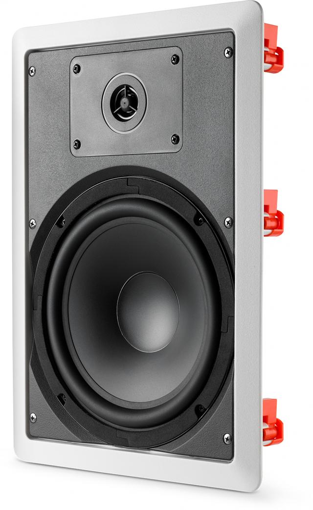 JBL® C-8IW In-Ceiling/In-Wall Loudspeaker-White-JBLC8IWWHT