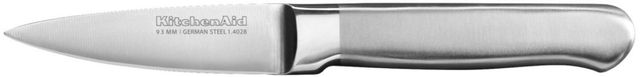 KitchenAid® Classic Forged Series 3.5 Inch Brushed Stainless Steel Paring Knife-KKFSS3PRST