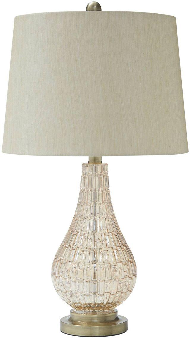 Signature Design by Ashley® Latoya Glass Table Lamp-L430594
