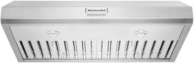 """KitchenAid® 36"""" Stainless Steel Under Cabinet Range Hood-KVUC606KSS"""