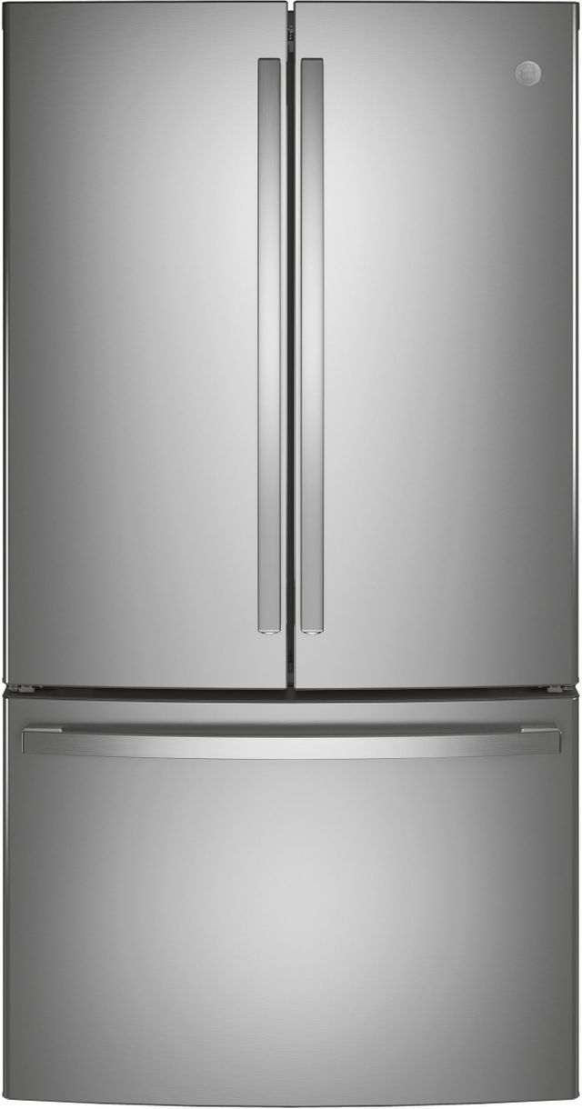 GE® 28.8 Cu. Ft. Fingerprint Resistant Stainless Steel French Door Refrigerator-GNE29GYNFS