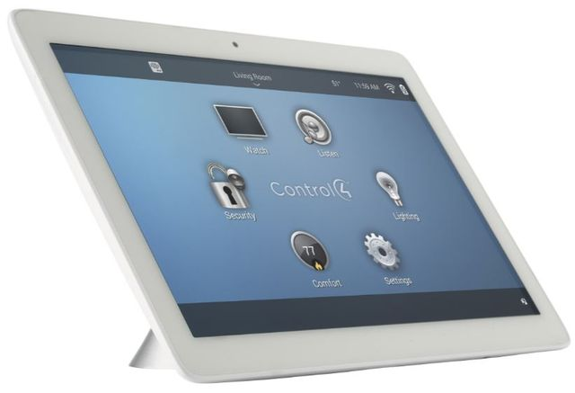 """Control4® T3 Series 10"""" Tabletop Touch Screen-White-C4-TT10-WH"""