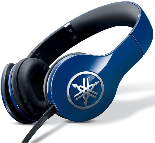Yamaha® Racing Blue High-Fidelity On-Ear Headphone-PRO 300BU