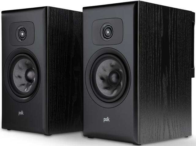 """Polk Audio® LEGEND L200 Black Ash 6.5"""" Large Premium Bookshelf Speakers (Pair)-AM8620"""