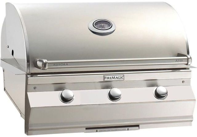 Fire Magic® Aurora Collection Built In Grill-Stainless Steel-A540i-5EAN