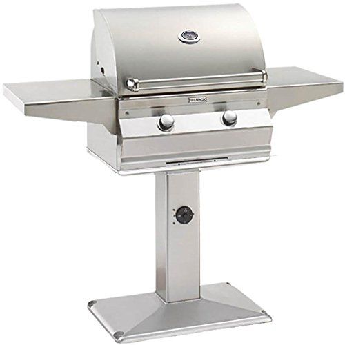 Fire Magic® Choice Collection Patio Post Mount Grill-Stainless Steel-C430S-1T1N-P6