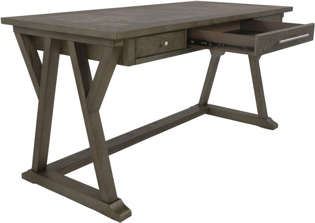 Signature Design by Ashley® Luxenford Grayish Brown Home Office Large Leg Desk-H741-44