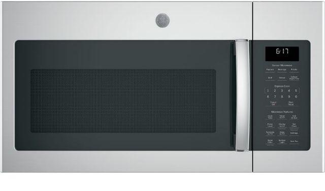 GE® 1.7 Cu. Ft. Fingerprint Resistant Stainless Steel Over The Range Microwave-JVM6175YKFS