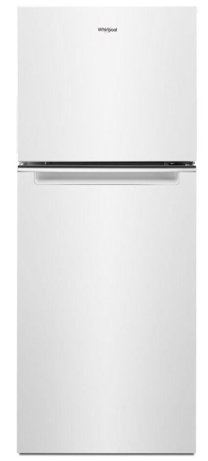 Réfrigérateur à congélateur supérieur de 24 po Whirlpool® de 11,6 pi³ - Blanc-WRT312CZJW