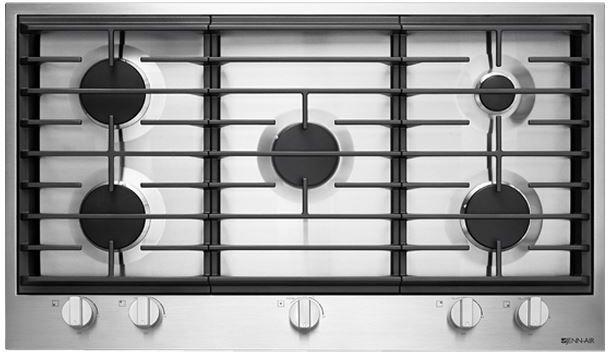"JennAir® 36"" Gas Cooktop-Stainless Steel-JGC1536BS"