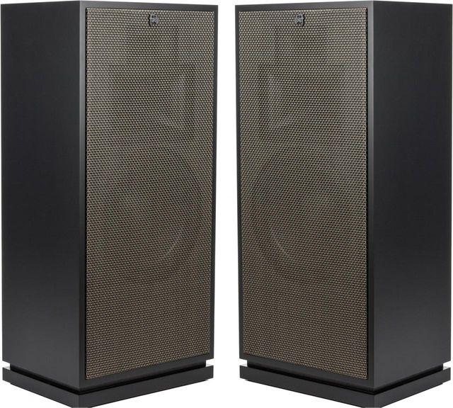 Klipsch® Heritage Matte Black Forte® III Special Edition Floor Standing Speakers-1063972