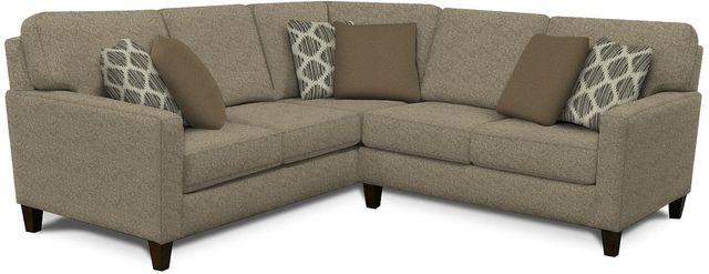 England™ Furniture Roxy Brentwood Pepper Sectional-8S00-Sect-8103