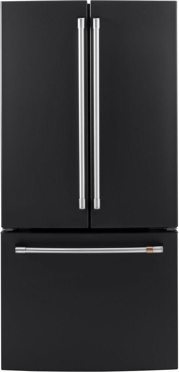 Café™ 18.58 Cu. Ft. Matte Black Counter Depth French Door Refrigerator-CWE19SP3ND1