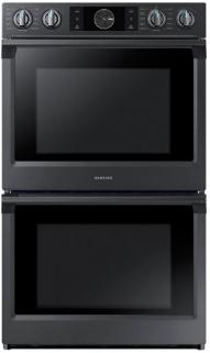 "Samsung 30"" Electric Built In Double Wall Oven-Fingerprint Resistant Black Stainless Steel-NV51K7770DG"