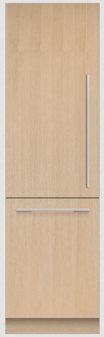 Fisher & Paykel Series 9 12.1 Cu. Ft. Integrated Column Bottom Freezer Refrigerator-RS2484WLUK1