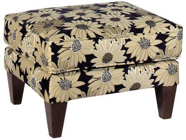 Craftmaster Farmhouse Living Room Ottoman-061300