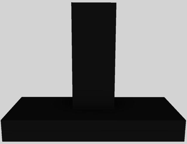 "Vent-A-Hood® 48"" Duct Free Wall Mounted Range Hood-Black-CWEAH6-K48 BL"