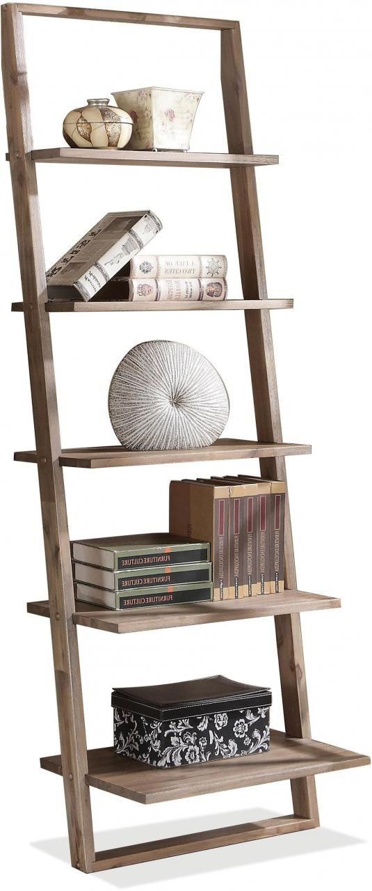 Riverside Furniture Lean Living Leaning Bookcase-27737