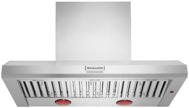 "KitchenAid 48"" Stainless Steel Wall Hood-KVWC958KSS"