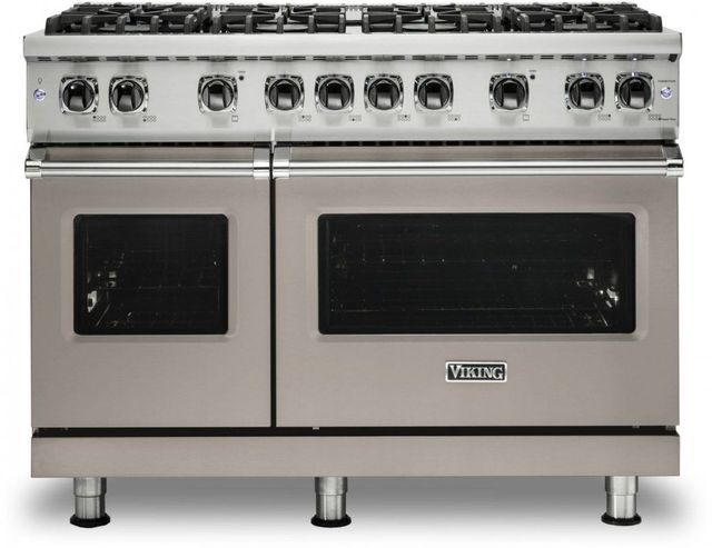 "Viking® 5 Series 48"" Pacific Grey Pro Style Natural Gas Range-VGR5488BPG"