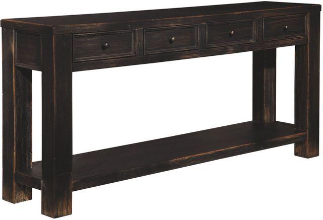 Signature Design by Ashley® Gavelston Black Sofa Table-T732-4