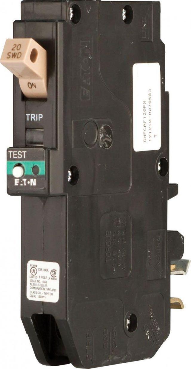 Crestron® Combination Arc Fault Breaker-CLB-120-20A-AFCI