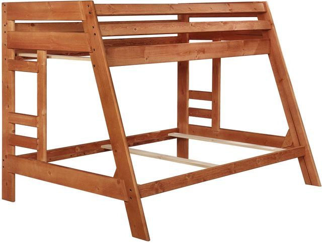 Coaster® Wrangle Hill Amber Wash Twin Over Full Youth Bunk Bed-460093