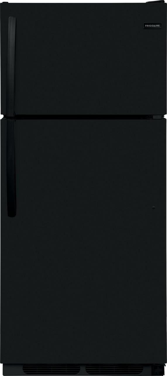 Frigidaire® 16.3 Cu. Ft. Black Top Freezer Refrigerator-FFHT1621TB
