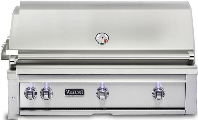 """Viking® Professional 5 Series 42"""" Stainless Steel Built-In Natural Gas Grill-VQGI5420NSS"""