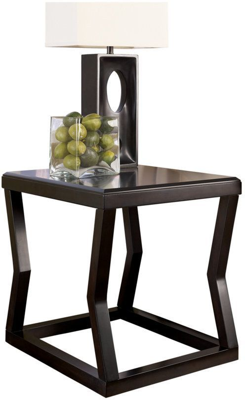 Signature Design by Ashley® Kelton Espresso Rectangular End Table-T592-3