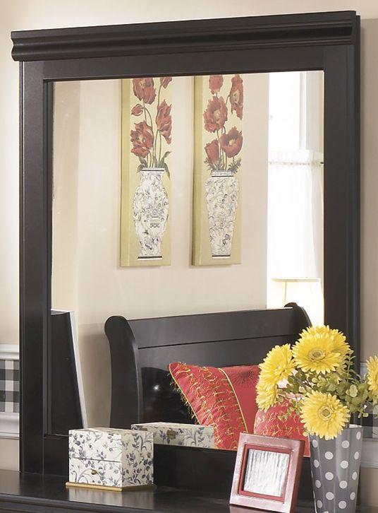 Signature Design by Ashley® Huey Vineyard Black Bedroom Mirror-B128-36