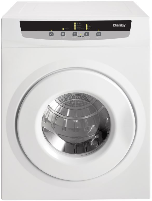 Danby® Front Load Electric Portable Dryer-White-DDY060WDB