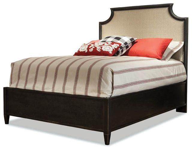 Durham Furniture Springville Bark King Upholstered Bed-145-145