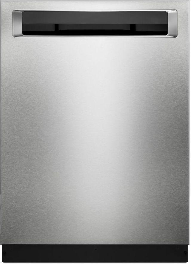 "KitchenAid® 24"" Stainless Steel with PrintShield™ Finish Built In Dishwasher-KDPE234GPS"