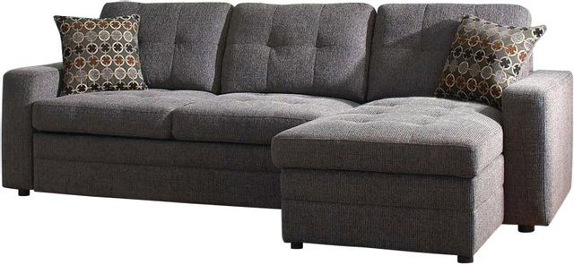 Coaster® Gus Casual Charcoal Sectional-501677