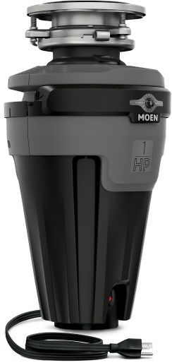Moen® EX Series 1 HP Continuous Feed Black Garbage Disposal-EXL100C