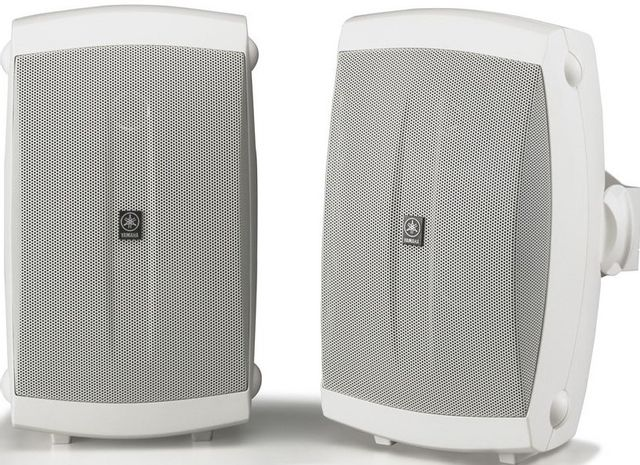"""Yamaha NS-AW150 White 5"""" Outdoor 2-way Speakers -NS-AW150W"""