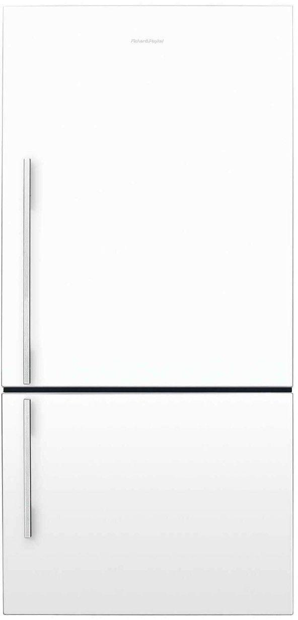 Réfrigérateur à congélateur inférieur à profondeur de comptoir de 32 po Fisher Paykel® de 17,5 pi³ - Blanc-E522BRWFD5 N