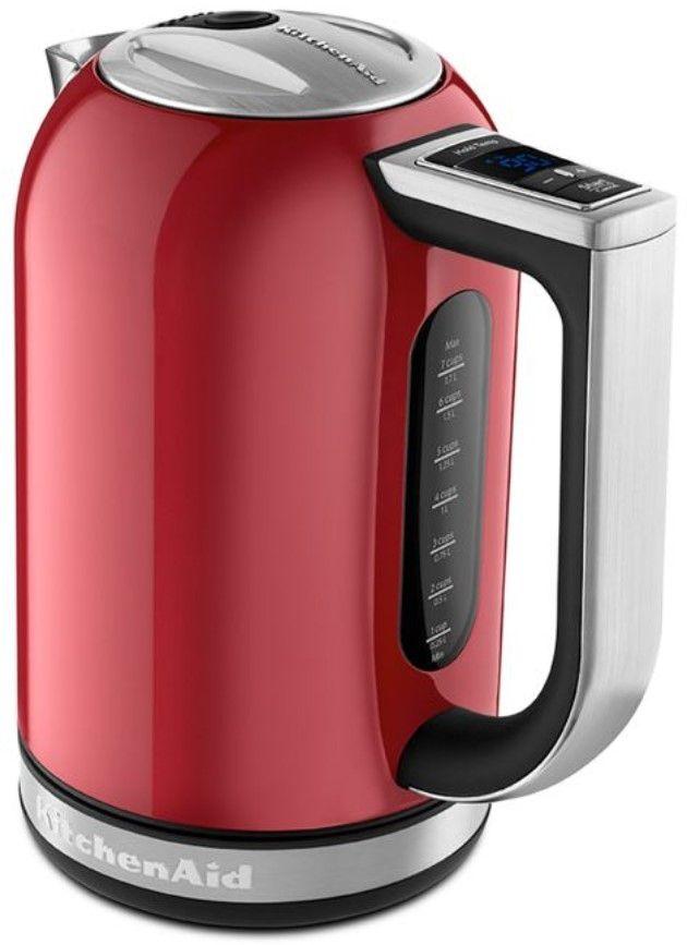 KitchenAid® 1.7 L Empire Red Electric Kettle-KEK1722ER